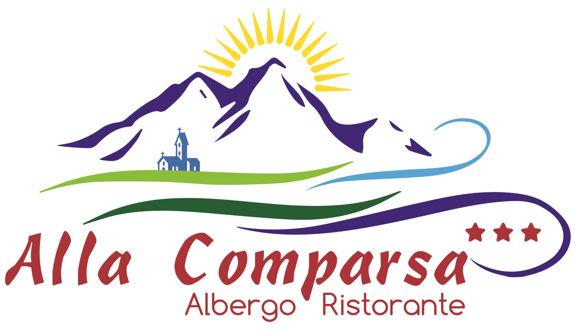 Albergo alla Comparsa a Baselga di Piné Logo